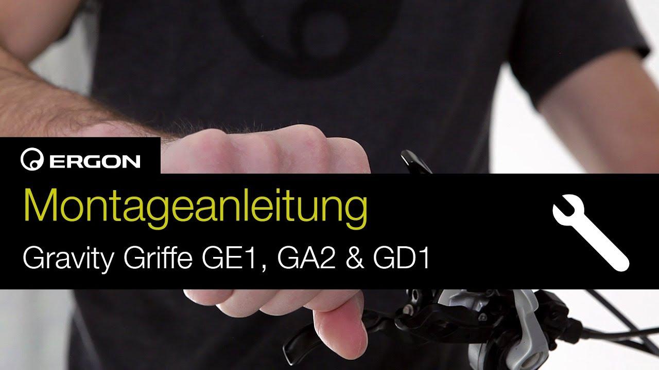 Montageanleitung Ergon Gravity Griffe GE1 GA2 und GD1