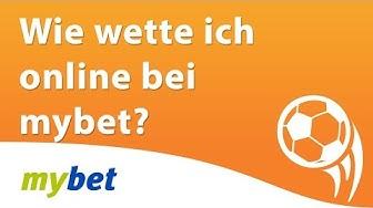 Wie wette ich online bei Mybet? (Mybet Sportwetten Erklärung)