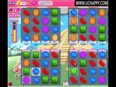 Candy Crush Level 323 - Candy Crush Saga Level 323 - No Boosters