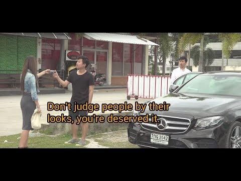 ขับรถหรูก็ใช่ว่าจะเป็นคนรวย บางครั้งเค้าอาจจะเป็นแค่คนขับรถก็ได้