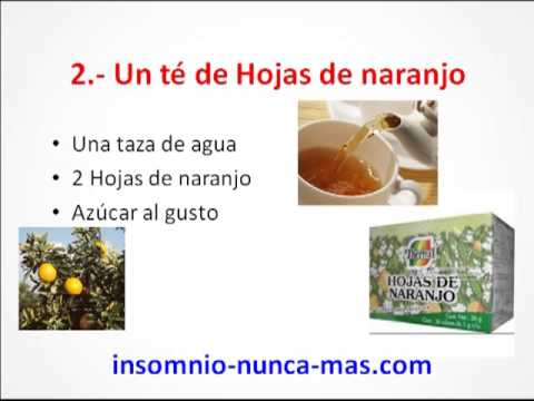 remedios naturales para poder dormir