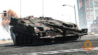 Шведский танк без башни STRV 103 - недоразумение или верх военно-технической мысли