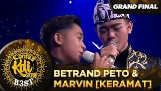 Bikin Merinding! Betrand Peto Ft Marvin [KERAMAT] - Grand Final KDI 2019 (18/10)