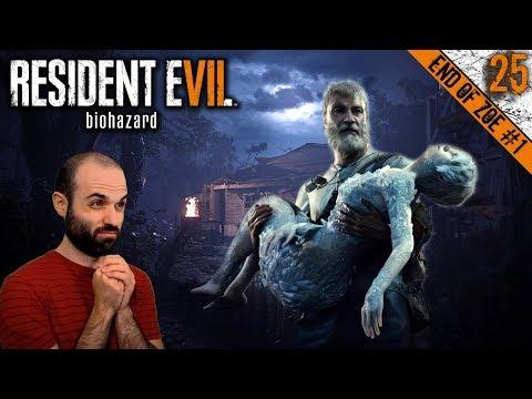 RE7 #25 EL FIN DE ZOE #1 | CHUCK BAKER NORRIS | RESIDENT EVIL 7 DLCs Gameplay Español