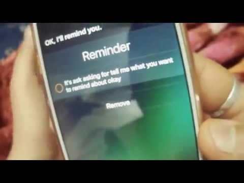 HOW TO UNLOCK IPHONE 6S WITHOUT PASSCODE, SIRI HELP YOU ...