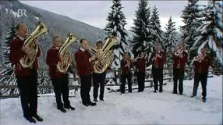 Bläsergruppe Ellbögen - Leise rieselt der Schnee