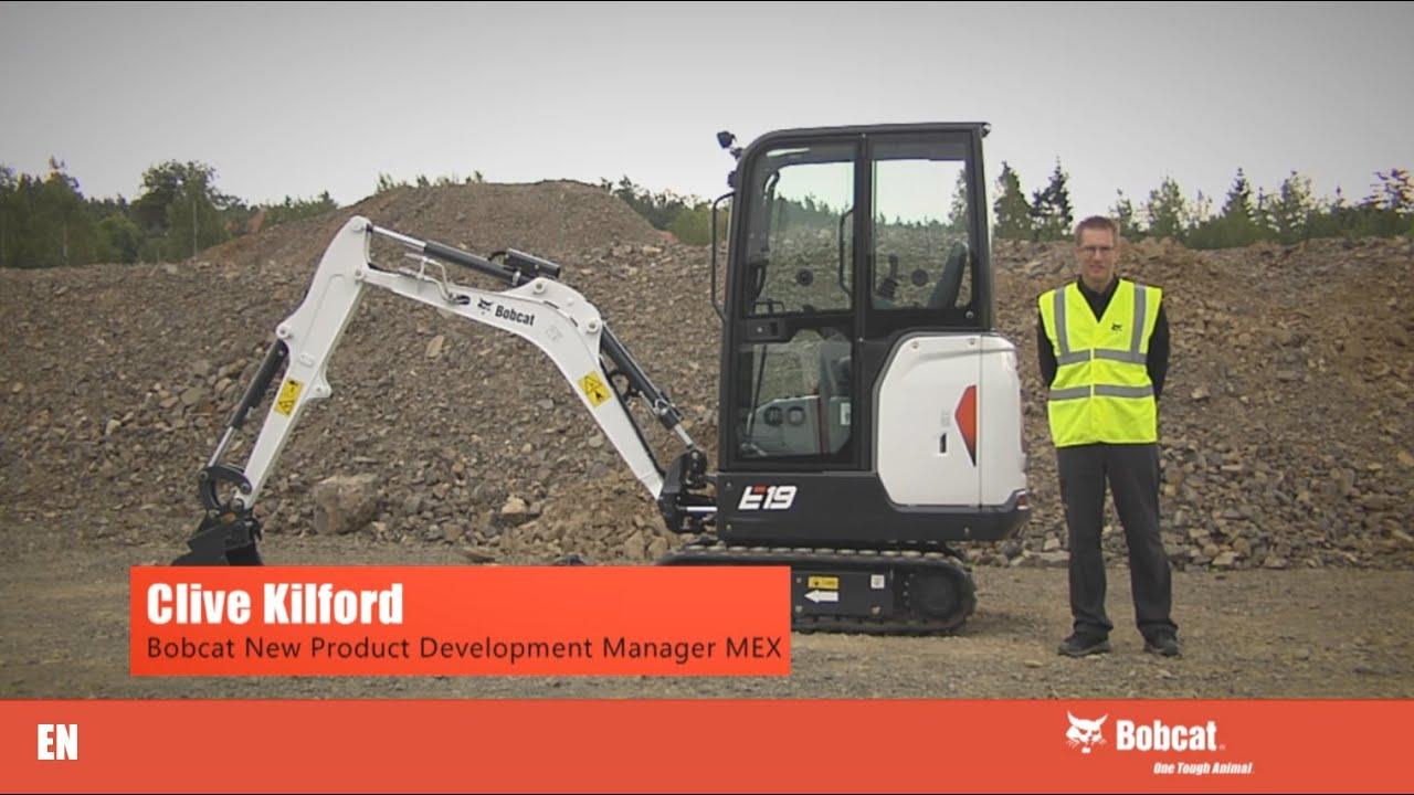 Download Bobcat Excavator E19 Presentation   Bobcat Equipment