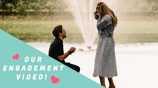 WE GOT ENGAGED! Steph & Josh's Proposal Video