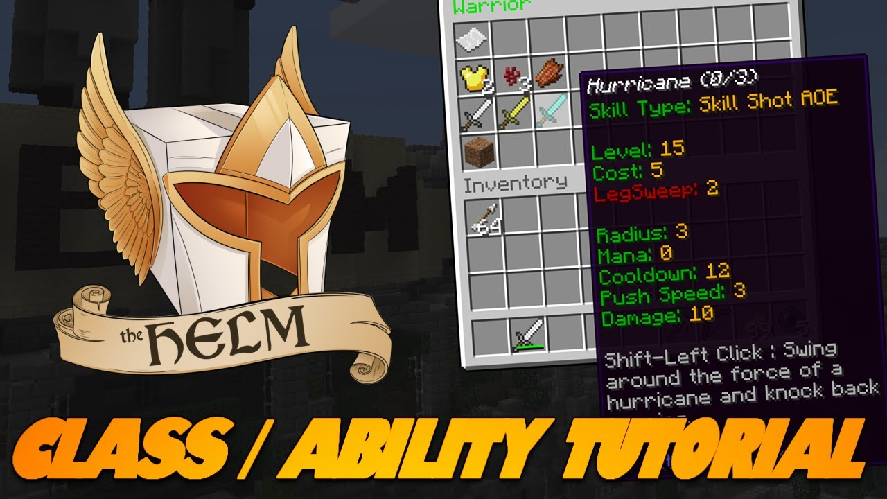 The HELM IS LIVE! Class & Abilities Tutorial! LEARN HOW TO SETUP YOUR CLASS!