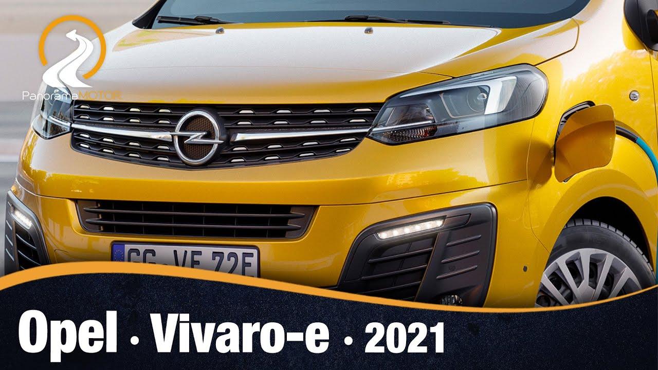 Opel Vivaro-e 2020 | EL PRIMER VEHÍCULO COMERCIAL 100 ELÉCTRICO DE OPEL