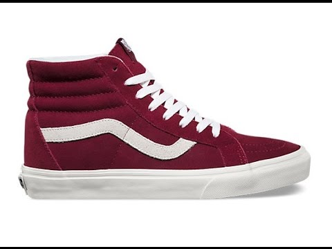 84f360527e67ab Shoe Review  Vans  Vintage  SK8-Hi Reissue (Windsor WIne Blanc ...