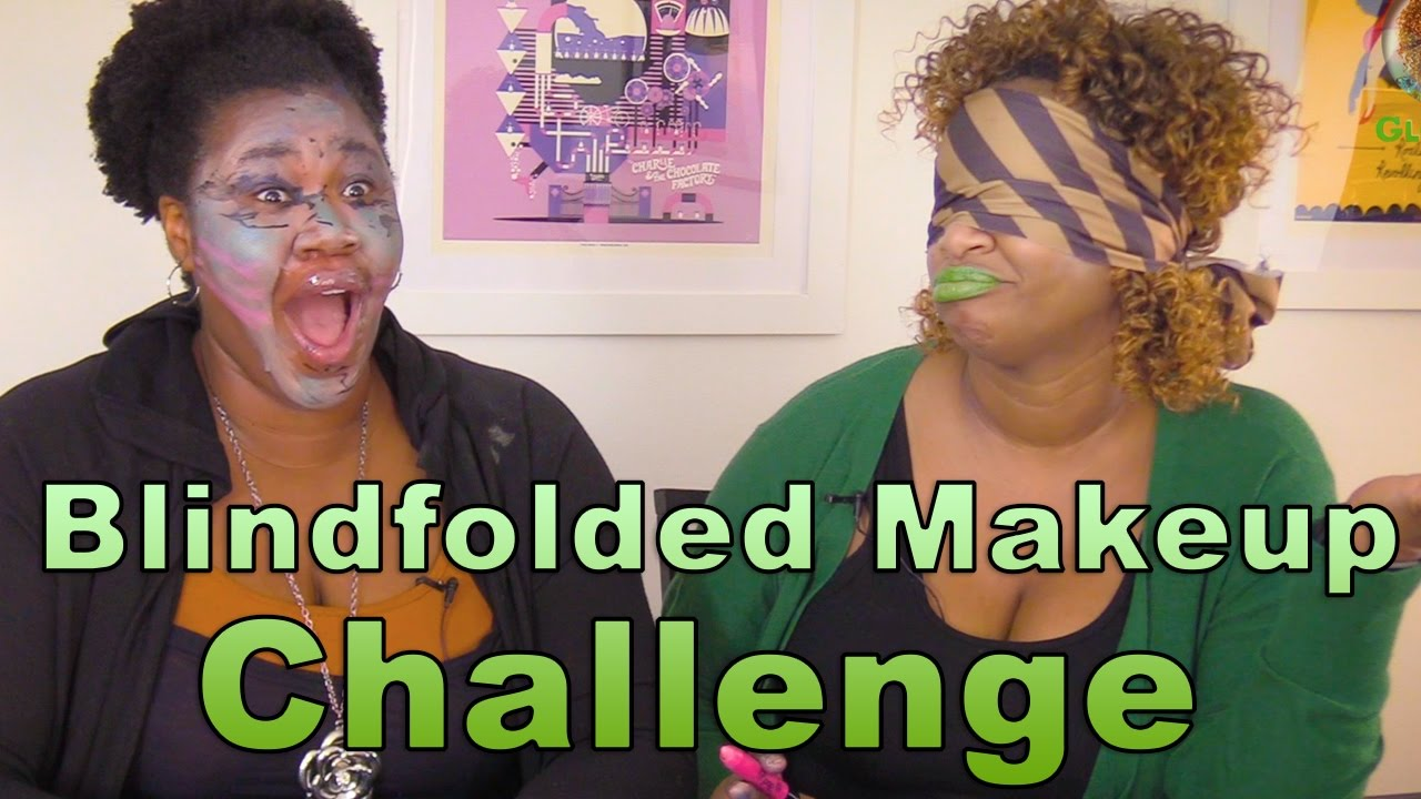 Blindfolded Makeup Challenge! - with GloZell