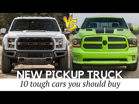 10 Best Pickup Trucks To Buy In 2017-2018 (Prices And Specs Compared)