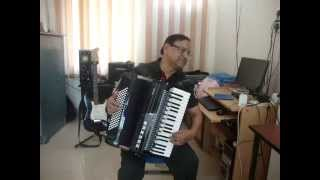 HOHNER Piano-Accordion - KISI KI MUSKURAHATON by Deepak Tahilramani