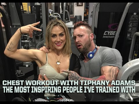 MY INSPIRING CHEST WORKOUT WITH TIPHANY ADAMS AND ERIC DILAURO