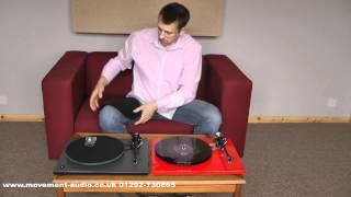 Rega RP3 Performance & RP6 review and comparison by Movement Audio (Poole & Salisbury)