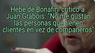 Hebe de Bonafini criticó a Juan Grabois