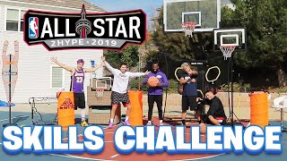 EPIC BASKETBALL OBSTACLE COURSE SKILLS CHALLENGE!