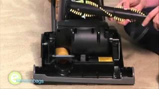 Changing the U belt on your Eureka vacuum cleaner