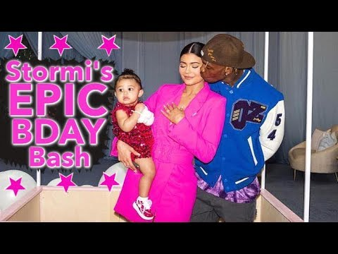 Kylie Jenner Goes ALL OUT For Stormi's First B-Day Bash Mp3
