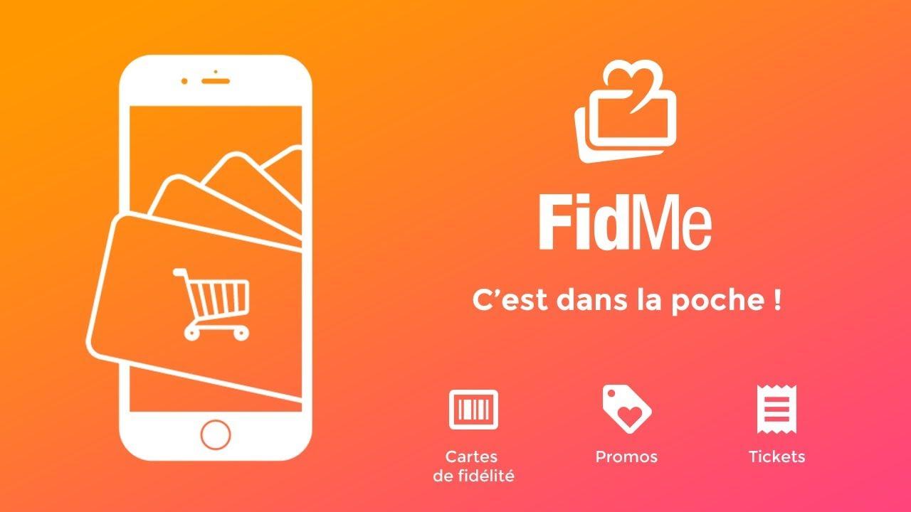 application pour carte de fidelité fidme : Vos cartes de fidélité dans votre téléphone mobile (iPhone
