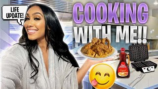 LIFE UPDATE✨ MENTAL HEALTH ✅ TOUR | NEW TEAM? + COOKING W/ QUEEN 👑