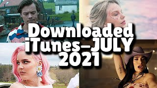 Top 50 Songs Downloaded At The iTunes Music Store! - JULY 2021! - itunes charts today us