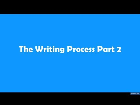 the writing process part 2 View notes - study unit the writing process part 2 from accounting 466 at dunwoody study unit the writing process part 2 by lisa rowe fraustino, phd author acknowledgement lisa rowe fraustino.