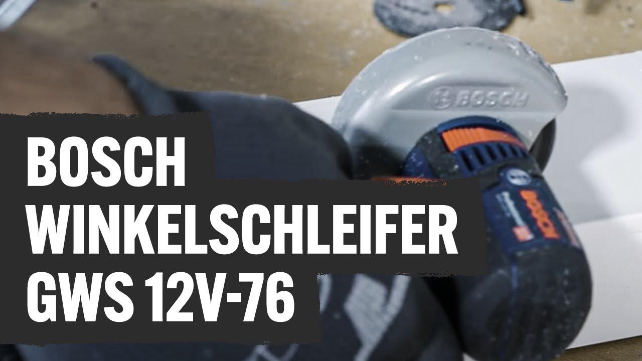 Bosch Winkelschleifer Gws 12v 76 Contorion Profi Tv Youtube