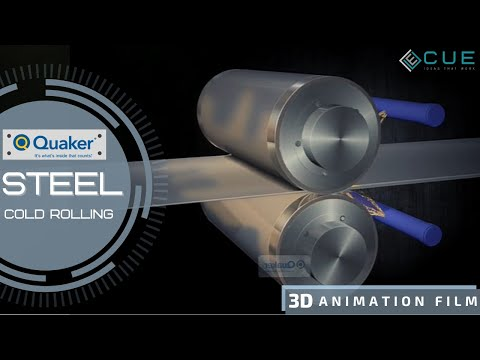 Quaker Animation Film Steel Cold Rolling Process