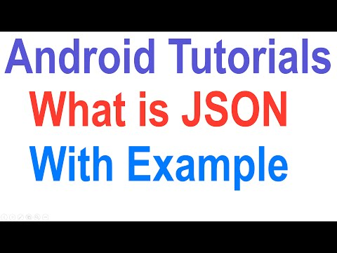 Android JSON Tutorial: Android Tutorial For Beginners [HD 1080p]