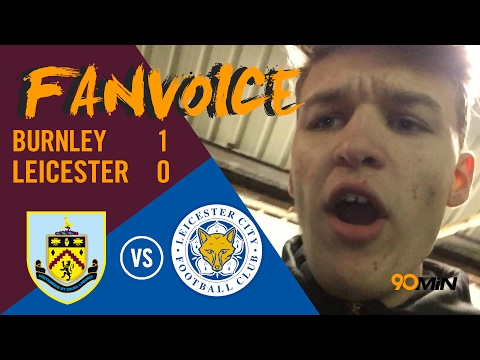 Vokes late goal gives Burnley 1-0 win over Leicester | Burnley 1-0 Leicester | 90min FanVoice