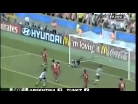 2005 Fifa Confederations Cup Argentina 2 1 Tunisia Youtube