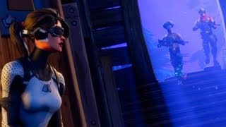 Fortnite Battle Royale - ARCTIC ASSASSIN Rare Skin Showcase