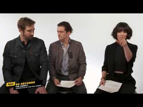 Max 60 Seconds with The Hobbit: The Battle of the Five Armies' Evangeline Lilly Cinemax