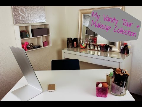 My Vanity Tour & Filming Set Up | Kayla Jasmin