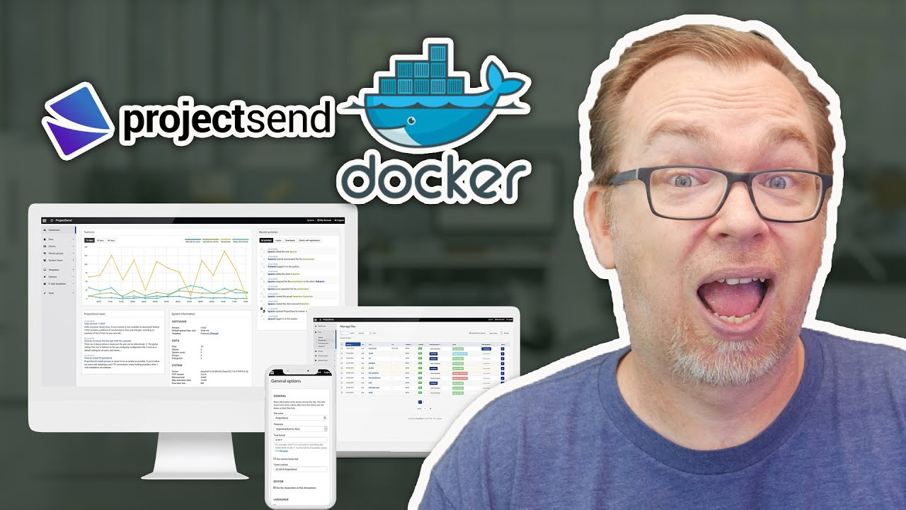 ProjectSend Installed in Docker   File Hosting & Sharing