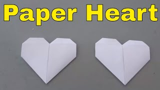 Download How To Make A Paper Heart-Folding Origami Heart Tutorial Mp3