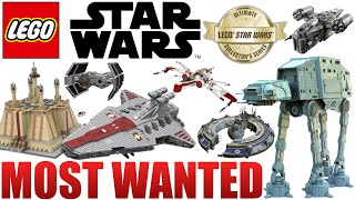 Top 20 MOST WANTED LEGO Star Wars UCS Sets! 2020+ Set Ideas!