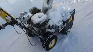 Снігоприбирач Huter SGC 4800. Регулювання клапанів. Плавають обороти.