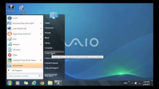 VAIO® - How to enable or disable the Windows Firewall on your Sony VAIO® computer