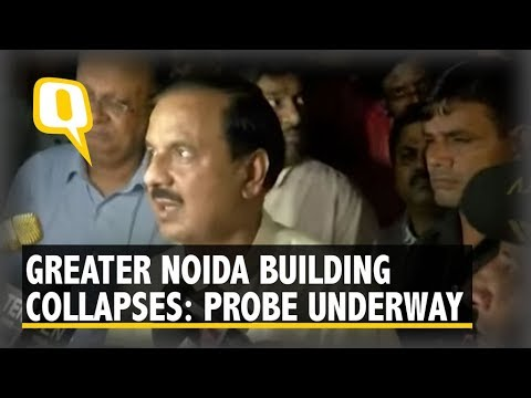 Six-storey building Collapses In Greater Noida, Feared Trapped