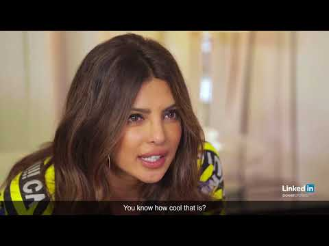 Priyanka Chopra LinkedIn Power Profiles 2017 Interview