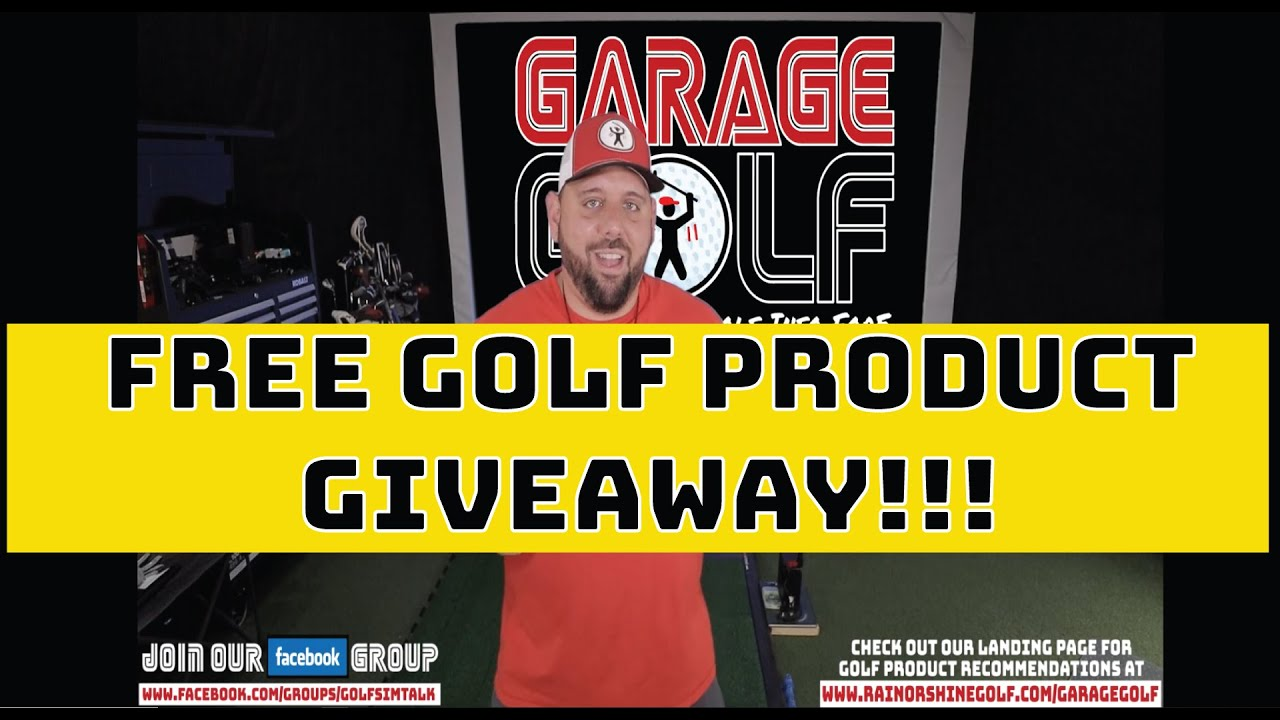 Free Golf Product Giveaway!! Deadline to Enter 7-17-20