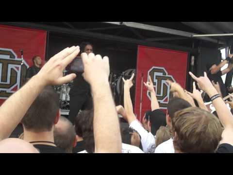 Sevendust Splinter Rockstar Energy Drink Uproar Festival 2011 Spokane, Wa