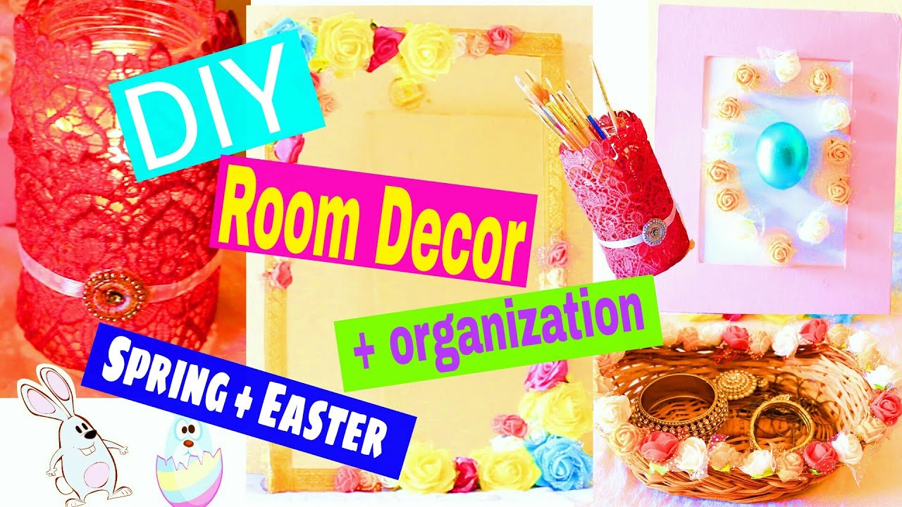 DIY Crafts : Room Decor + organization for Spring & Easter | DIY ...