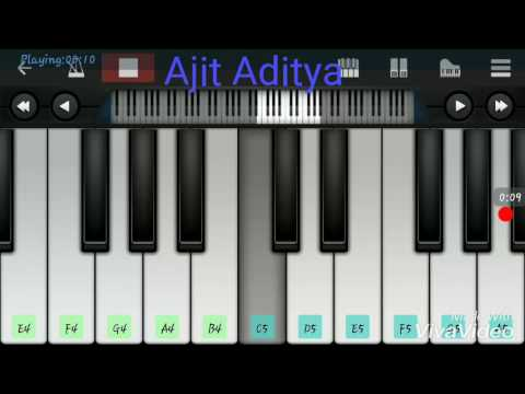 CHANNA MEREYA MEREYA  Mobile Piano Tutorial Easy