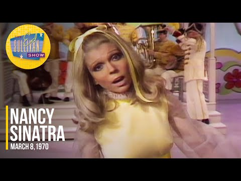 """Nancy Sinatra """"I Love Them All (The Boys In The Band)"""" on The Ed Sullivan Show"""