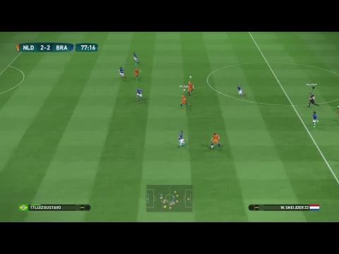 PES 2017 Team play Be a Pro  Full Manual Controls | FULL HD |