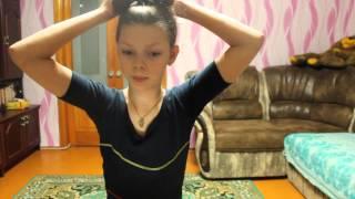 Видео урок : Бантик из волос=3